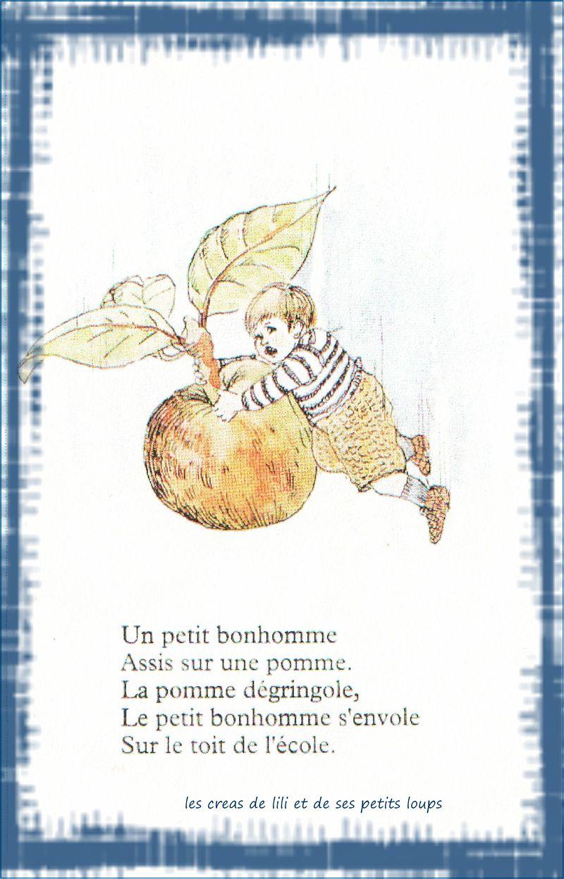 Copie de un jules sur une pomme