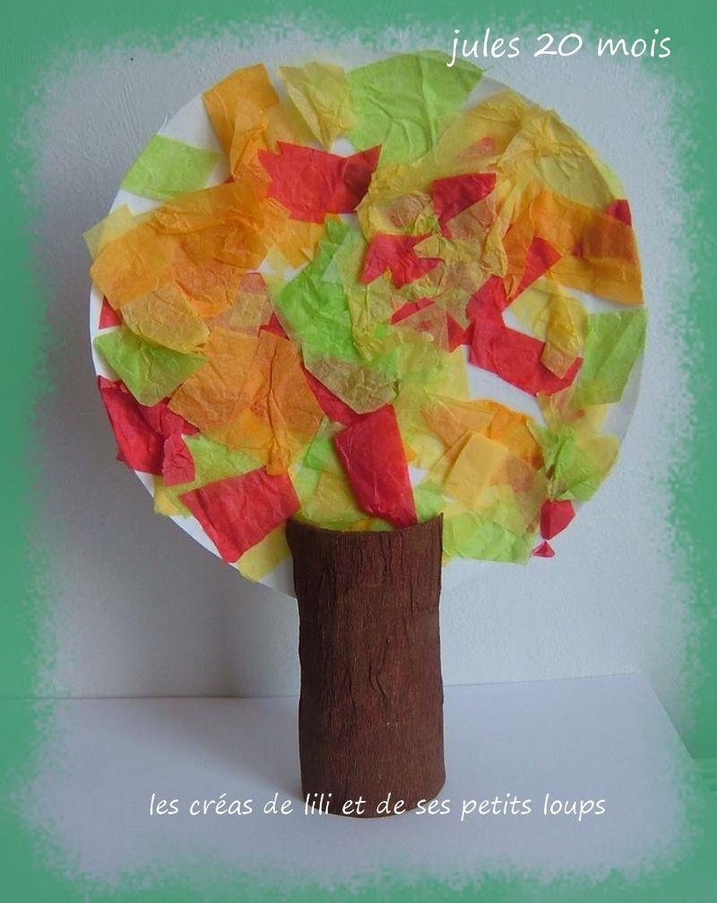 L'arbre d'automne de gabin