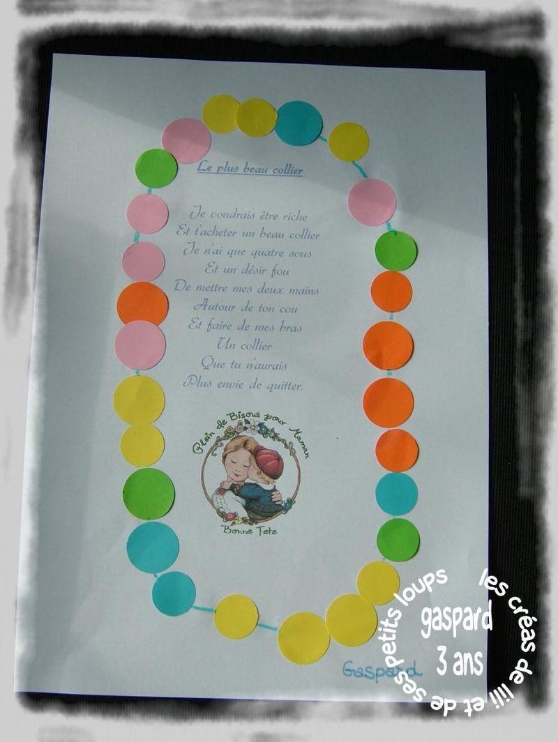 Poeme collier capucine