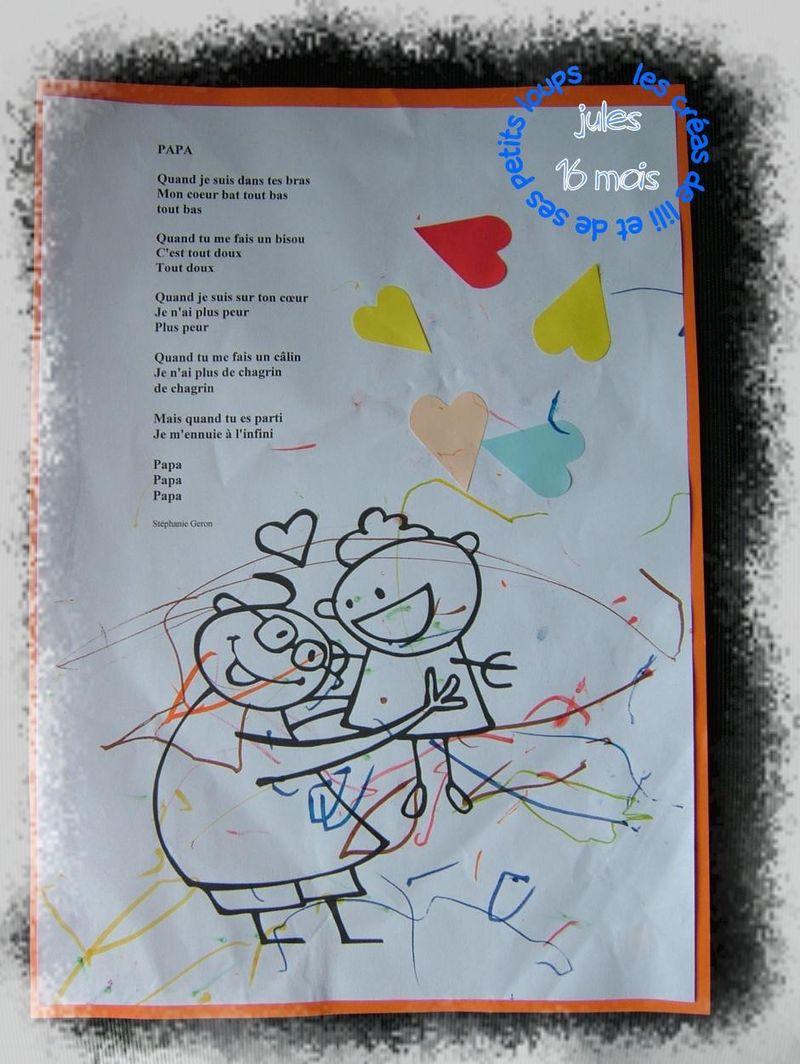 Poeme papa decapucine  2011