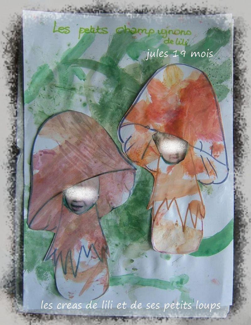 Copie de les petits champignons jules