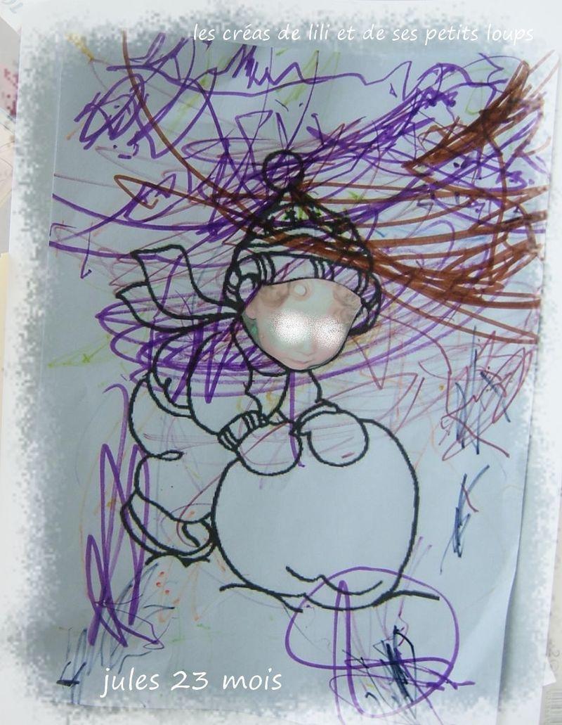 Copie de jules roule une grosse  boule de neige