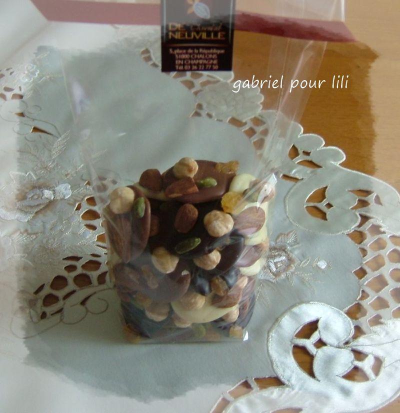 Les chocolats de gabriel