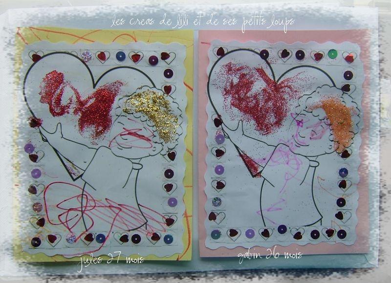 Carte enfant coeur