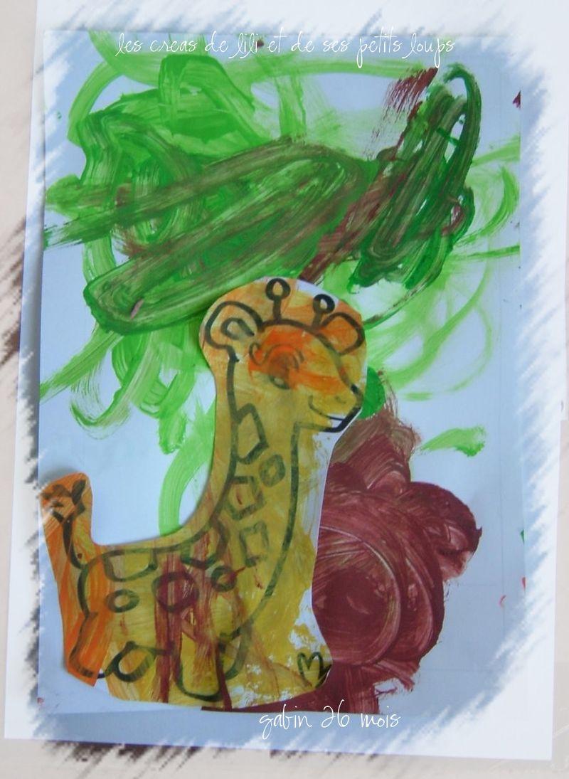 Girafon de gabin