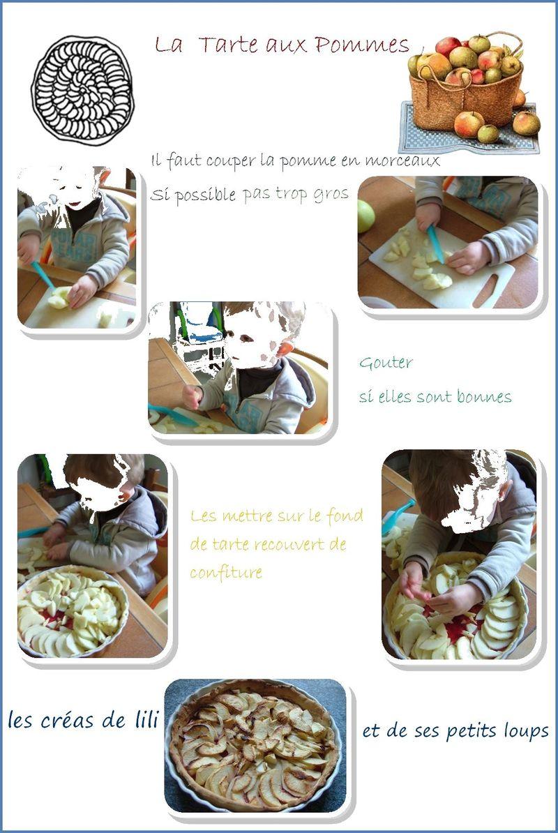 Copie de la tarte aux pommes de gabin
