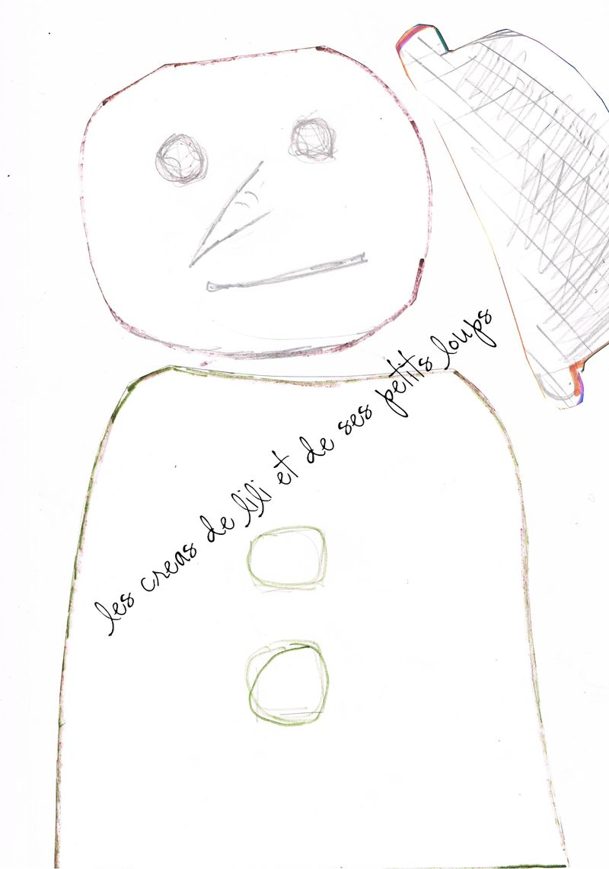 Modele bonhomme de neige