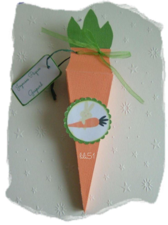 La carotte des lapins de paques 2013