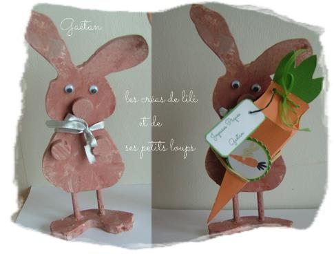 Lapin a la carotte gaetan