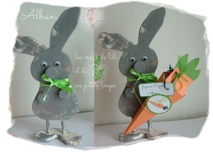 Lapin a la carotte d'alban