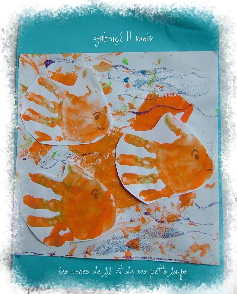Les poissons mains de gabriel