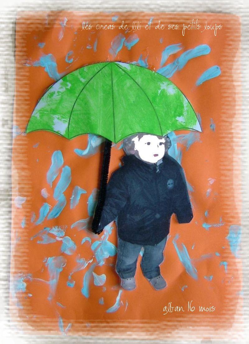 Copie de aban et son parapluie