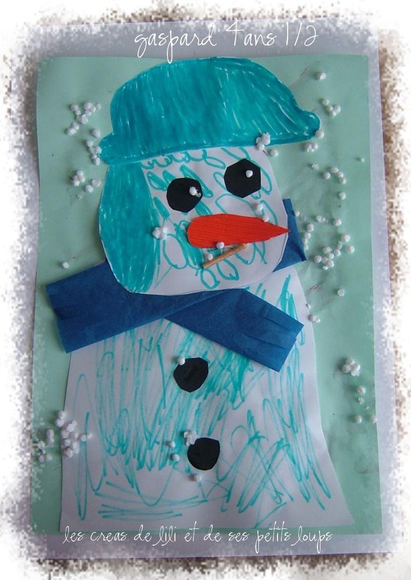 Bonhomme neige gaspard