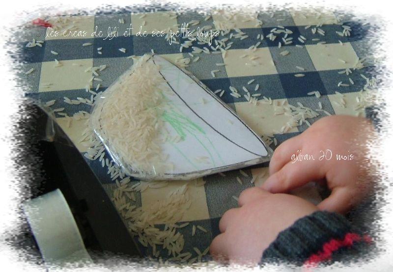 Bol de riz a secouer