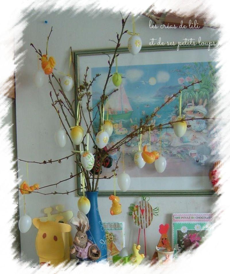 L'arbre paques 2013