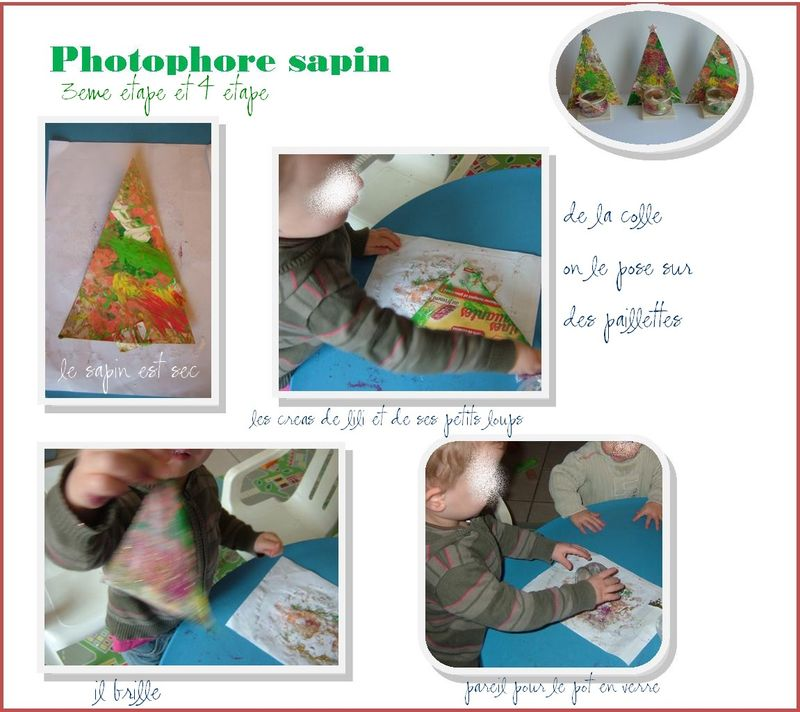 Photophore sapin