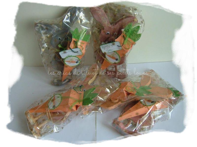 Lapin a la carotte prets