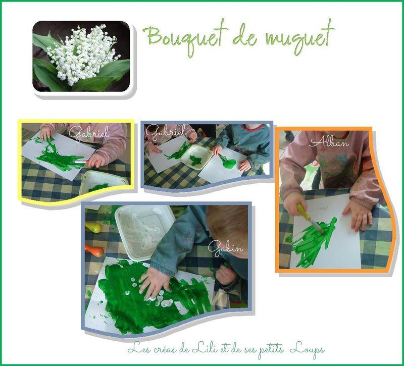 Bouquet muguet gabin