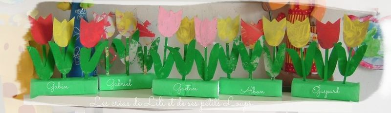 Les 5x3 tulipes
