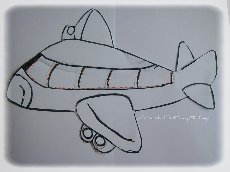 Modele avion compagnie lili