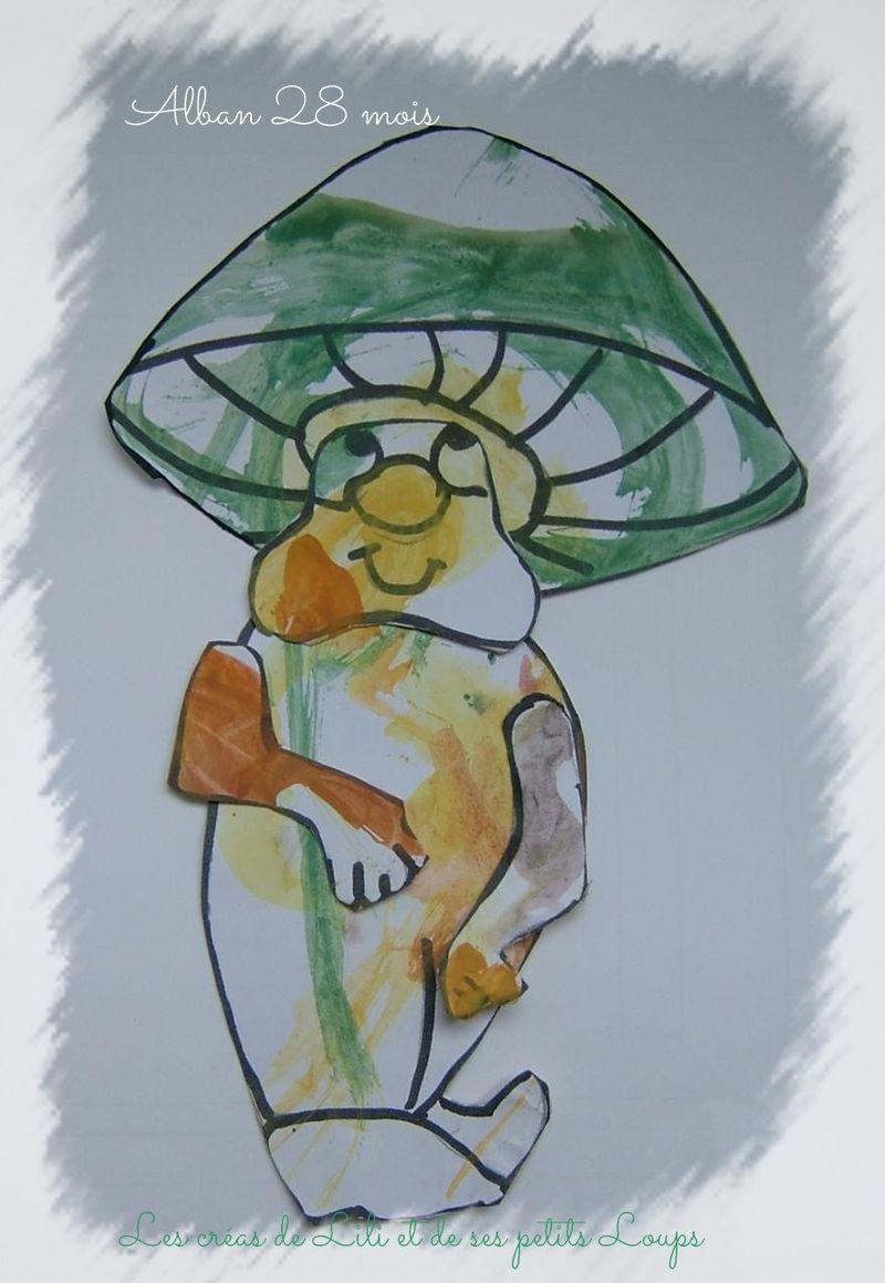 Le champignon d'alban