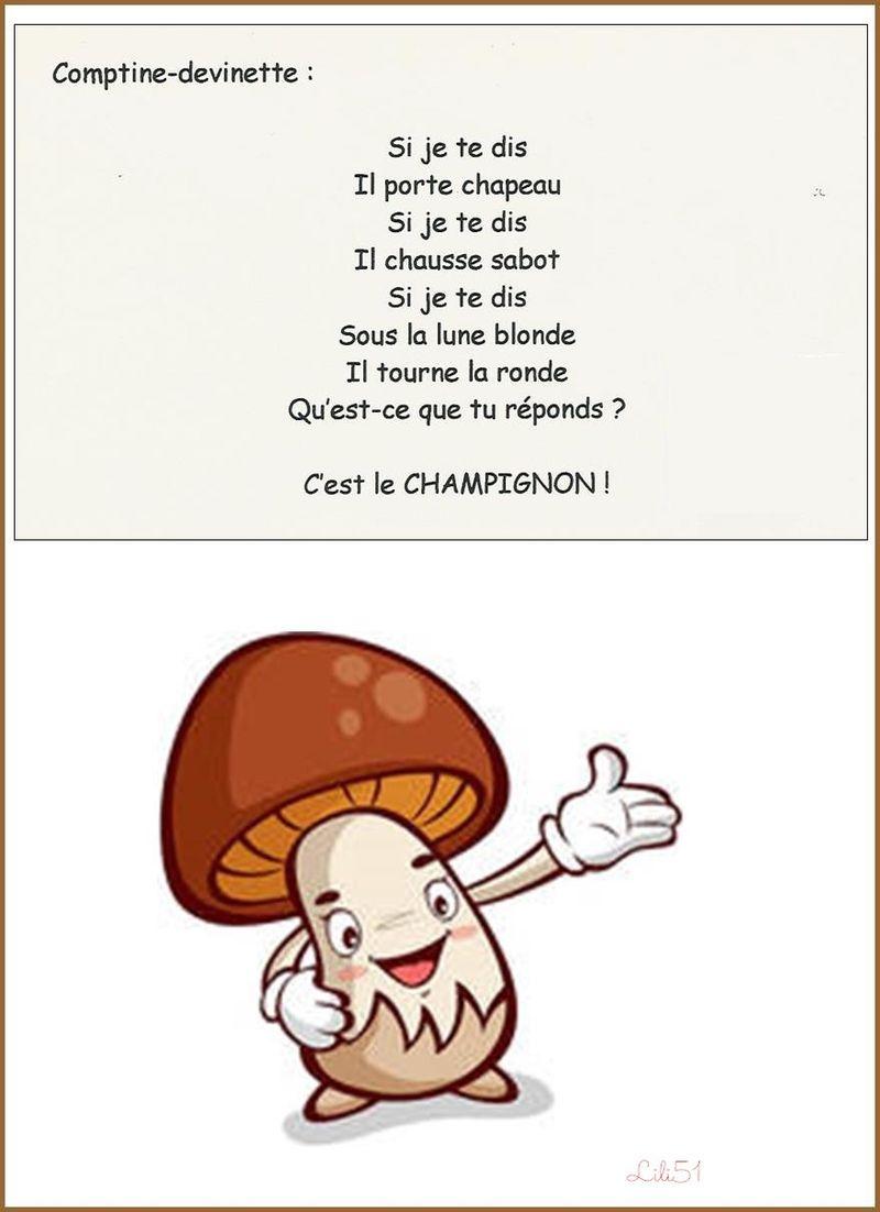 Contine champignon