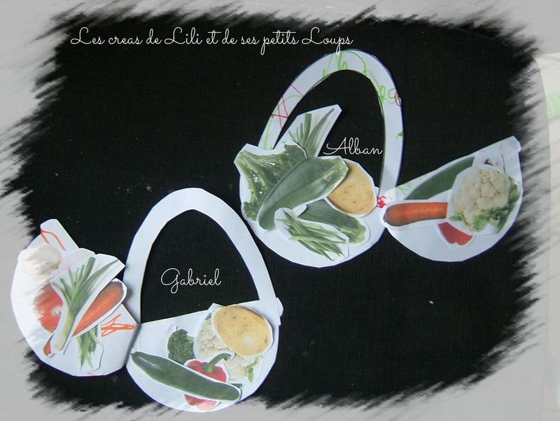 Les paniers de legumes