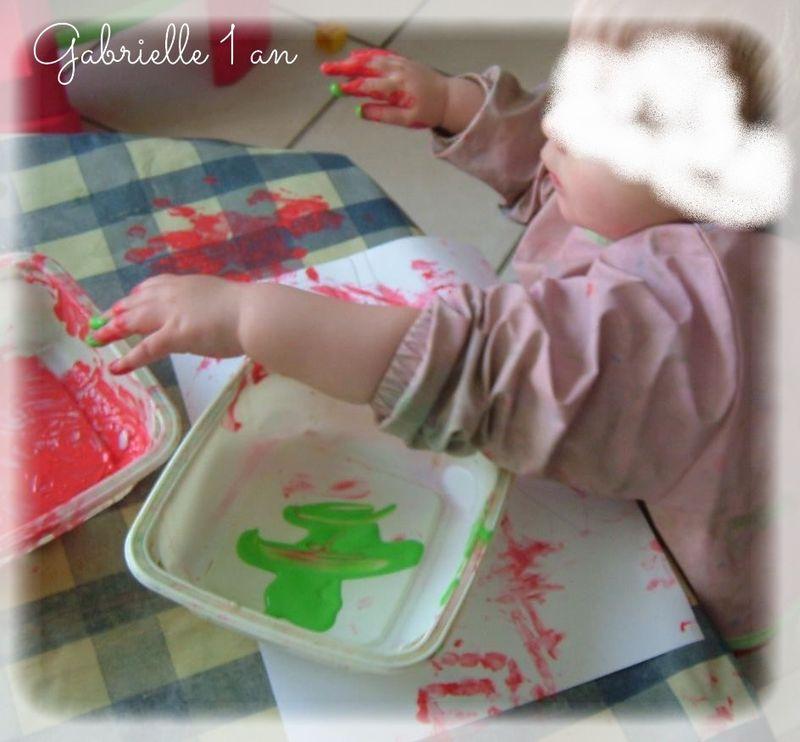 Pupuce peint sa tulipe