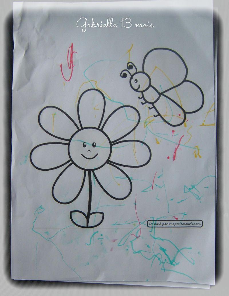 Fleur papillon gabrielle