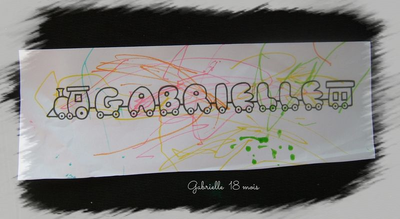 Gabrielle prenom train