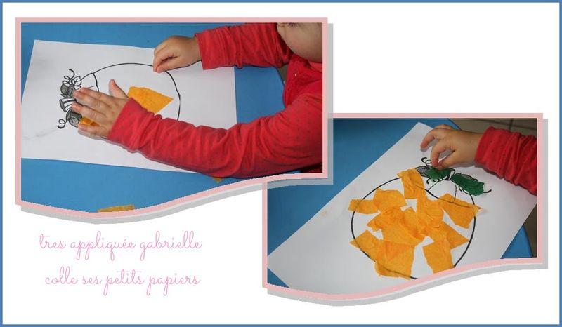 Citrouille petit papier gabrielle