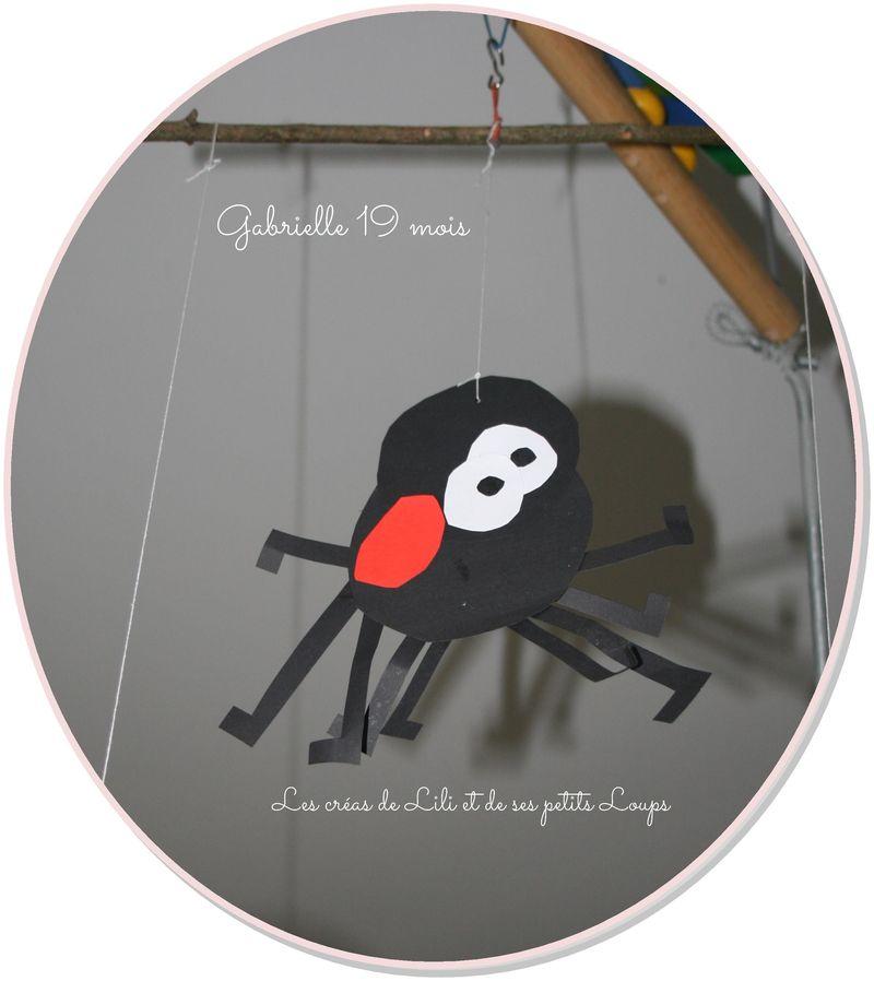 L'araignée de gabrielle