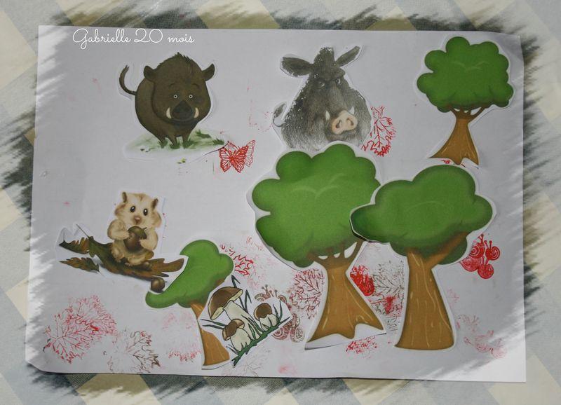 Histoire de sanglier dans les bois