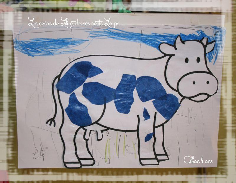 Les taches de la vache alban