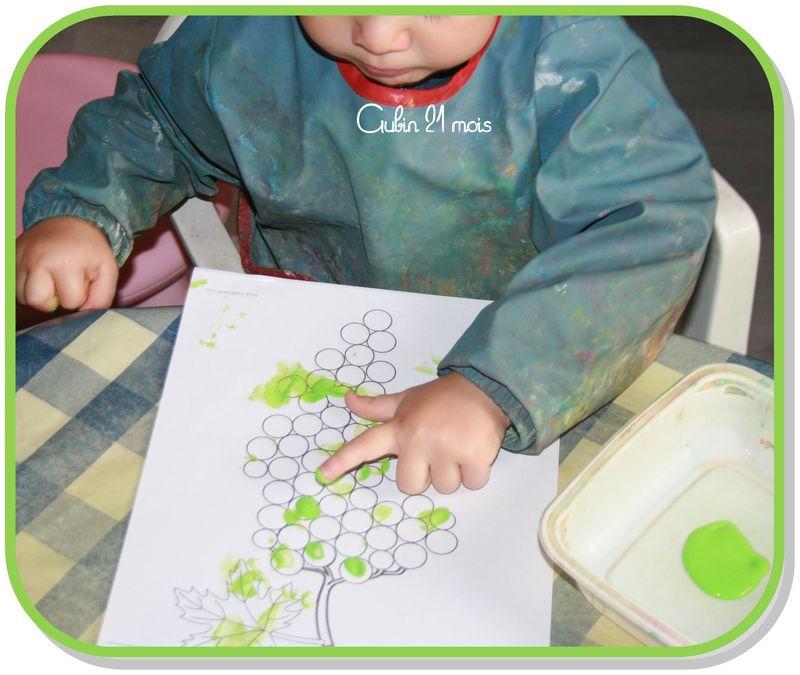 Peindre grappe aubin