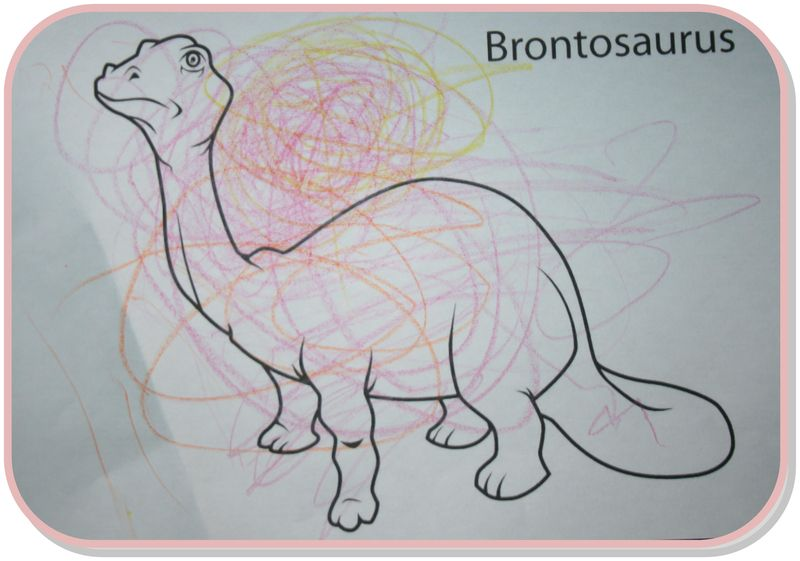 Coloriage dino t.rex alban