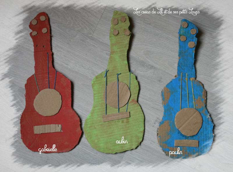 Les guitares et les petits loups