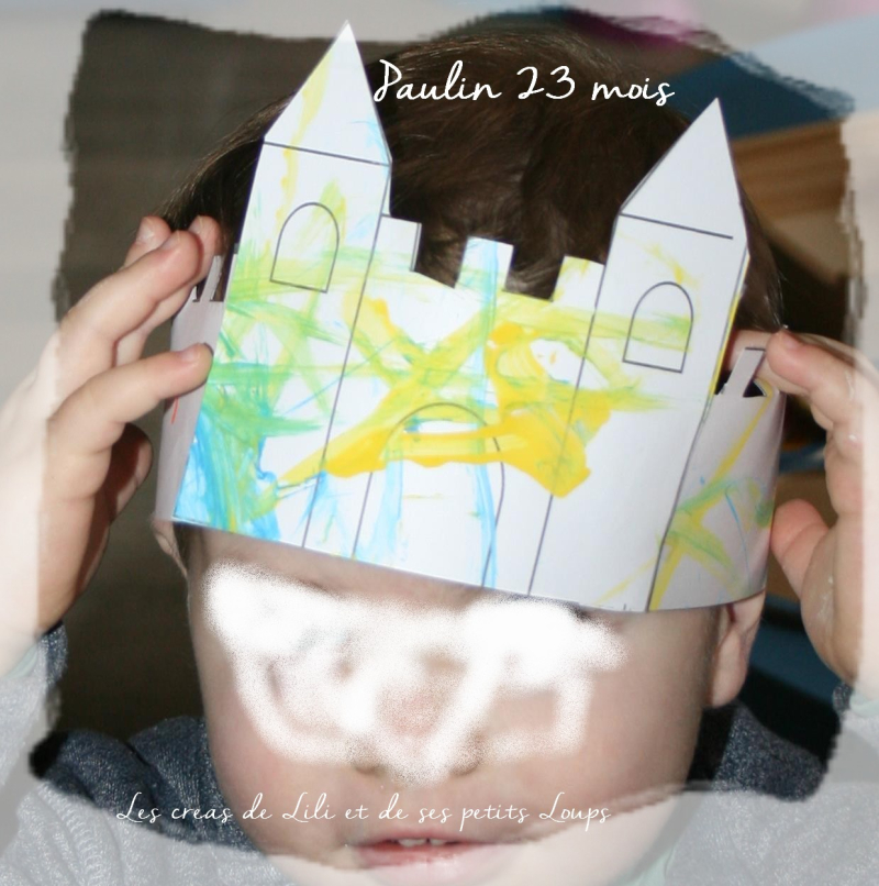 Paulin et sa couronne chateau
