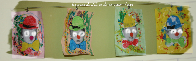 Mes 4 billes de clowns