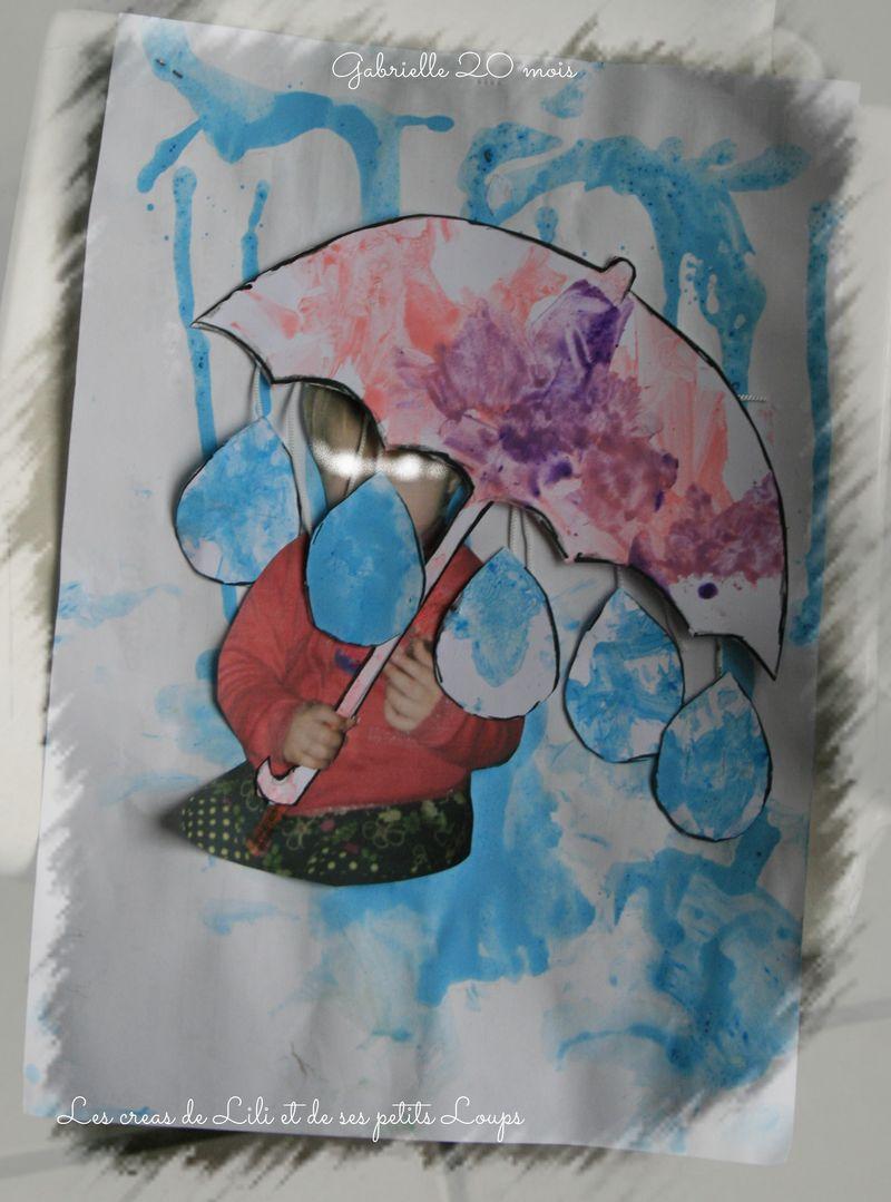Defi parapluie  gabrielle
