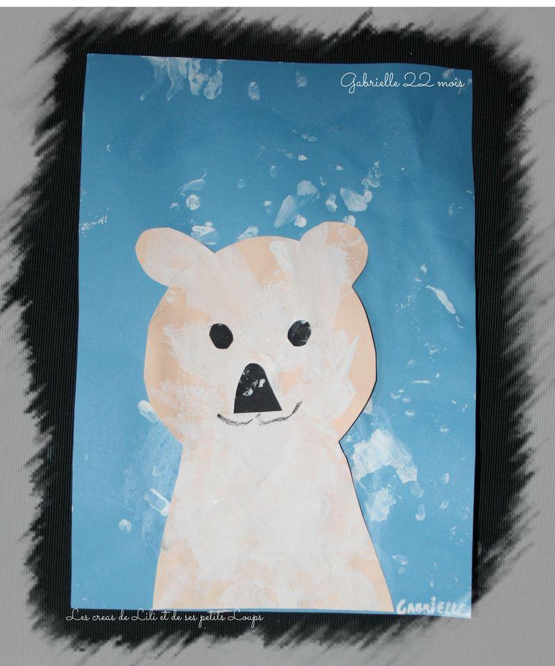 Ours sous la neige de gabrielle