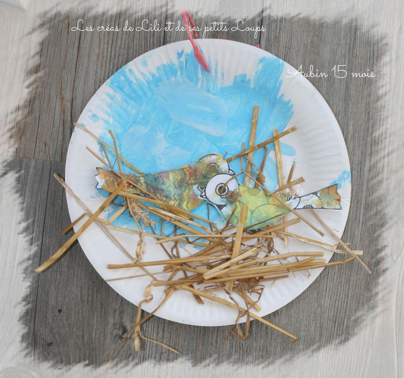 Le nid  des oiseaux de gabrielle