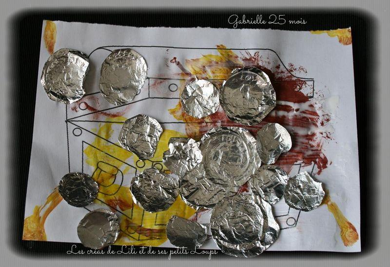 Coffre pieces d'argent gabrielle