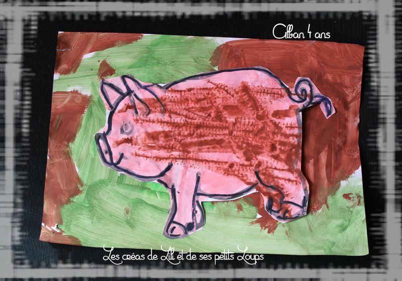 Le cochon et la boue d'alban