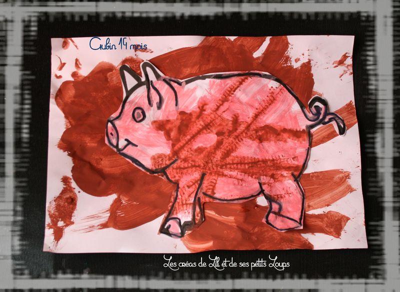 Le cochon et la boue d'aubin