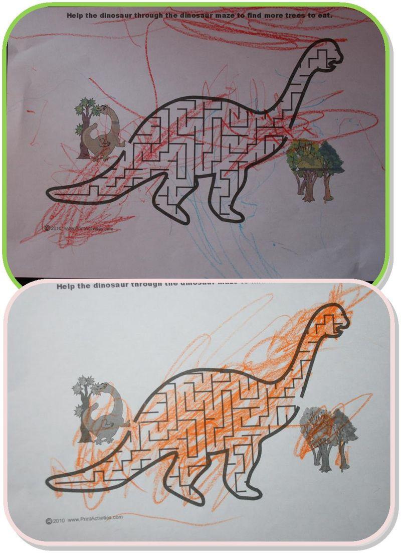 Dino labinrynthe
