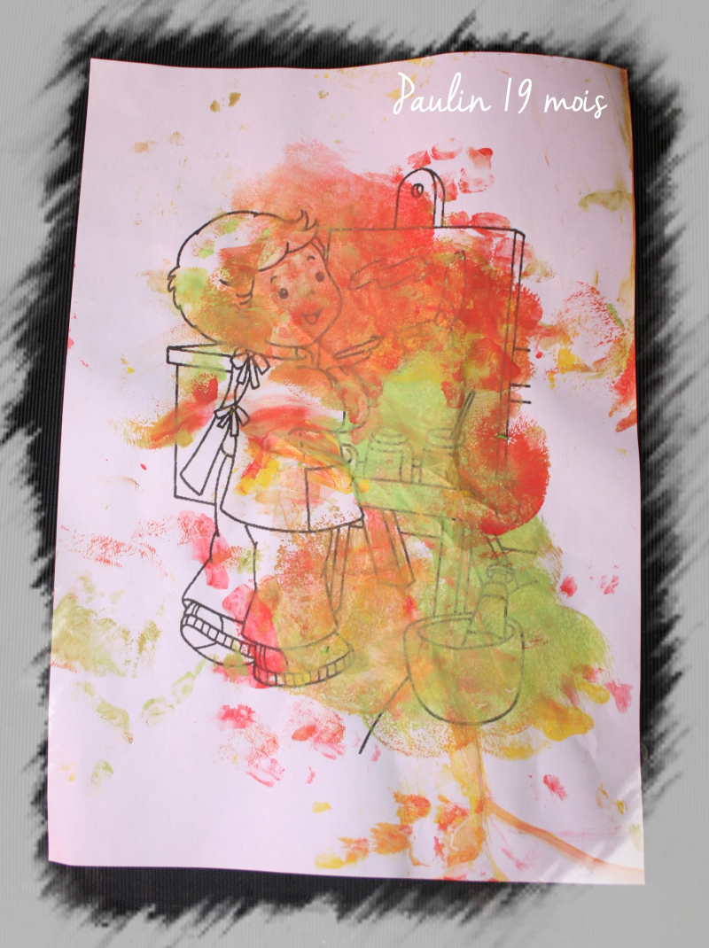 Peinture garcon  paulin