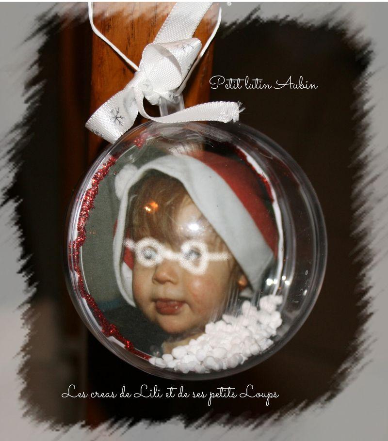 Boule noel aubin 2014