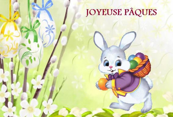 Joyeuses paques lapin