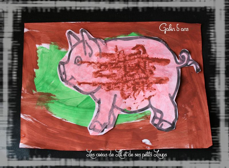 Le cochon et la boue gabin